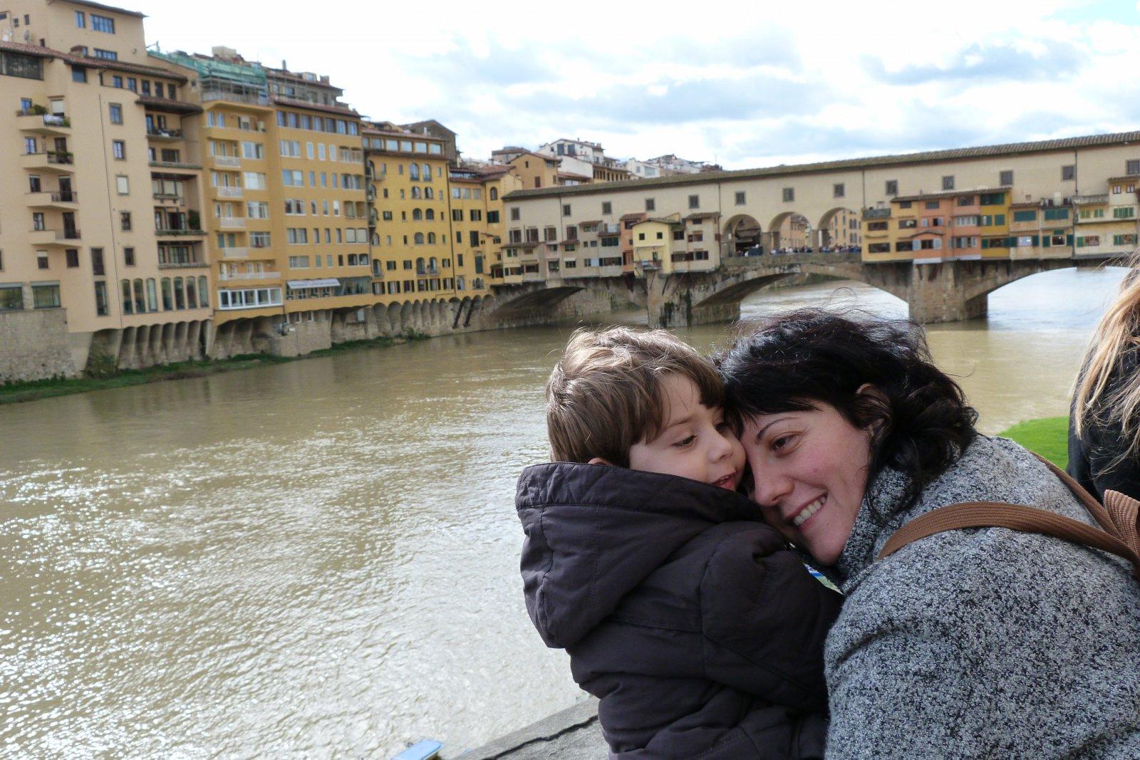 Eric y Sandra en Florencia, la lupa viajera