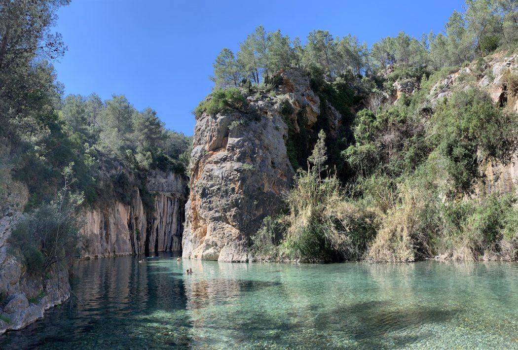 Fuente de los baños en Montanejos Castellón