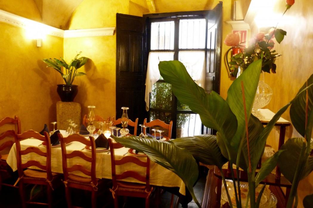 restaurante tabula calda, Merida