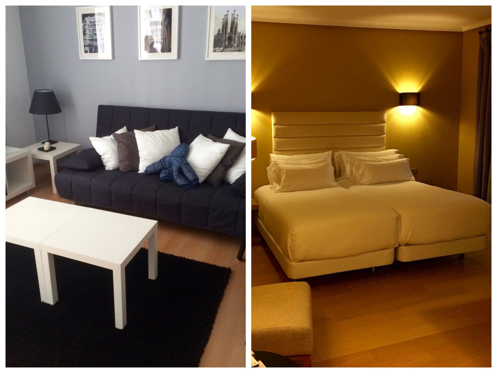 hotel o apartamento, nuestra experiencia con Homeaway